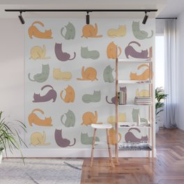 Cat day Wall Mural