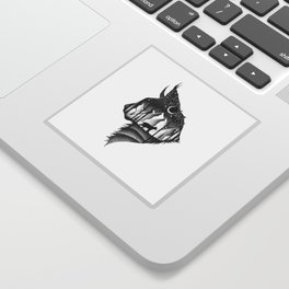 THE LYNX & THE MOON Sticker