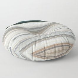 Colorbands Yellowstone Floor Pillow