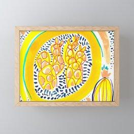 Fun In The Sun Framed Mini Art Print