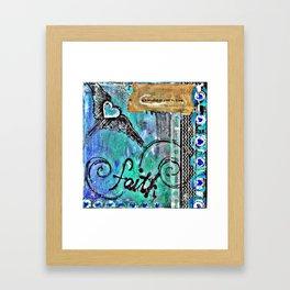 Faith in the Journey Framed Art Print