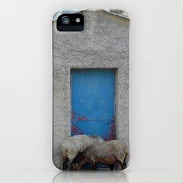 Sheep to Door iPhone Case