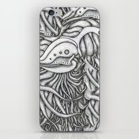 evolution iPhone & iPod Skins featuring Evolution  by OKAINA IMAGE