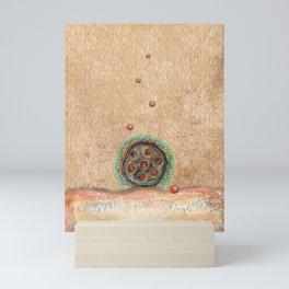 Seed Pod with Pearls Mini Art Print
