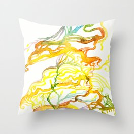 Iceland Abstracted #6 Throw Pillow