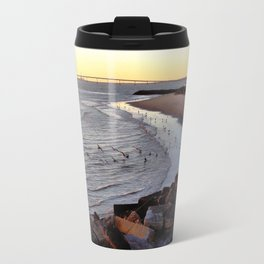By the shore (New Jersey) Travel Mug