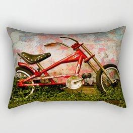 Red Hot Stingray Rectangular Pillow