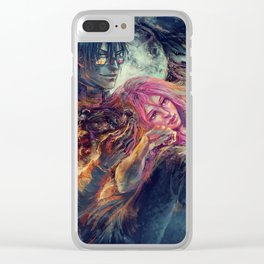 Everybody wants to rule the world Clear iPhone Case