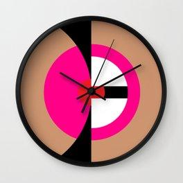 Abstract Pornography #1 (أو: البورنو حسب الشريعة الإسلامية #١) Wall Clock