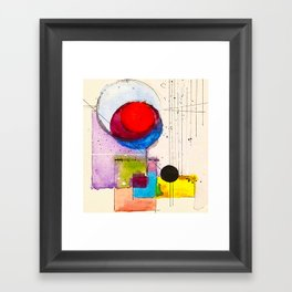 He`s got the sun and the moon  XII Framed Art Print