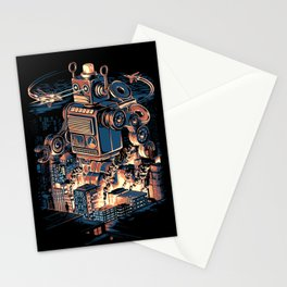 Night of the Toy Stationery Cards