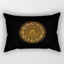 vintage clock_29 Rectangular Pillow