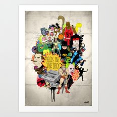Back In The Day Art Print