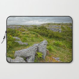 Cloudy Poulnabrone Landscape Laptop Sleeve