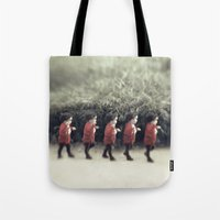 army Tote Bags featuring Baby army by josemanuelerre