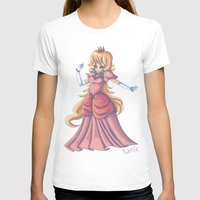 princess peach T-shirts featuring Princess Peach by Christine Tribou