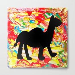 Mushy Camel Vibes Metal Print