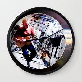 Space Oddity - ISS Chris Hadfield Wall Clock