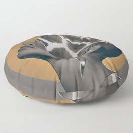 African Beauty Floor Pillow