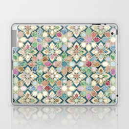 Muted Moroccan Mosaic Tiles Laptop & iPad Skin