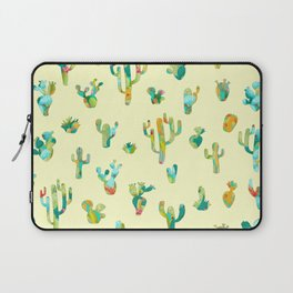 Cactus colorful pattern Laptop Sleeve