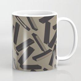 3D X Pattern Coffee Mug