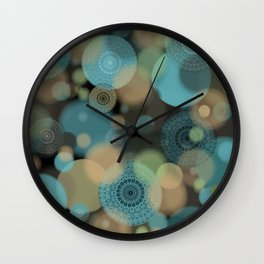 Millions of Mandalas Wall Clock
