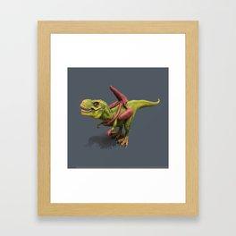 A CHILD'S WORLD DINO ART  Framed Art Print