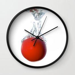 Ball splashing Wall Clock
