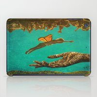 let it go iPad Cases featuring Let Go by Brianne Lanigan