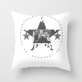 advertising-manager Gamer Gift Throw Pillow