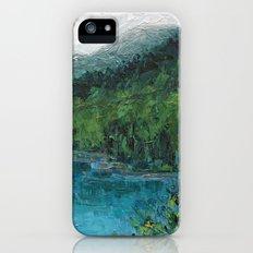 Lake Fuschl, Austria iPhone (5, 5s) Slim Case