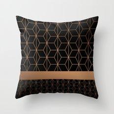Patternbronze #2 Throw Pillow