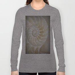 Nautilus Shell Long Sleeve T-shirt