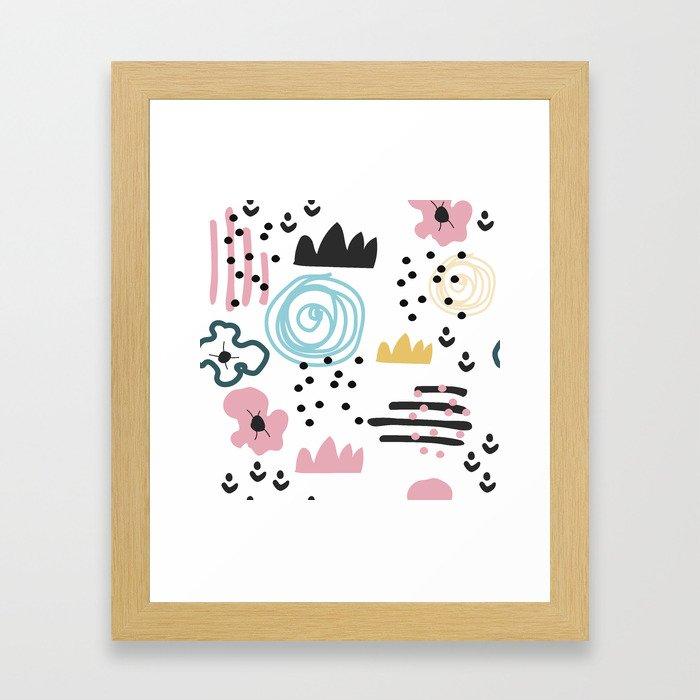 Abstract art Framed Art Print
