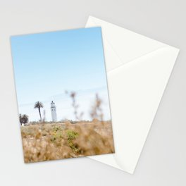 Travel photography Palos Verdes VI Lighthouse Stationery Cards