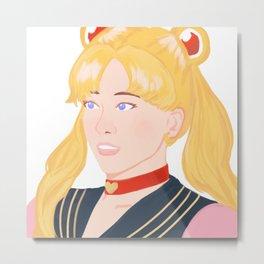 Sailor Moon Usagi Metal Print