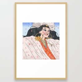 Nai Palm Framed Art Print
