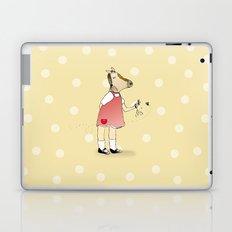 Little Horse Girl Laptop & iPad Skin