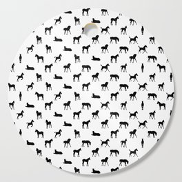 Foals All Over Pattern Cutting Board