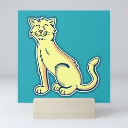 Tripod Cat Mini Art Print