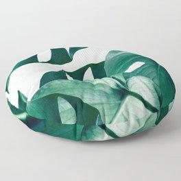 Monstera #society6 #artprints #buyart Floor Pillow