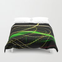 sonic Duvet Covers featuring Sonic Waves by Jonathan Wright Productions