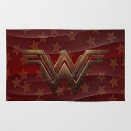 Wavy Red Wonder Women Rug