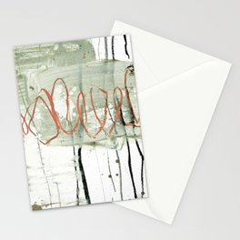 loops red Stationery Cards