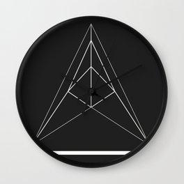 Acidulant Logo Wall Clock