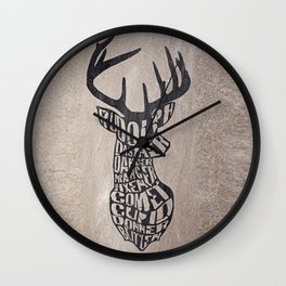Rudolph and friends Wall Clock