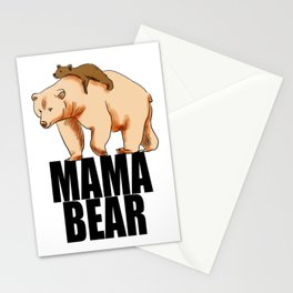 Mama Bear Gift For Mom Stationery Cards