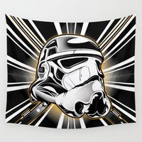 stormtrooper Wall Tapestries featuring Stormtrooper by Sheloner.