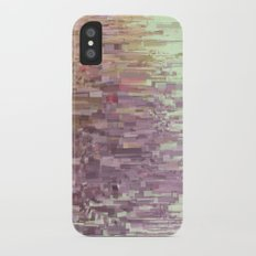 Mini square colors iPhone X Slim Case
